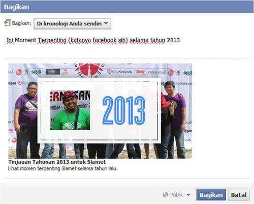 Tinjauan Facebook SlameTux Selama Tahun 2013 4