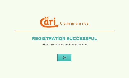 Cari Community Registered