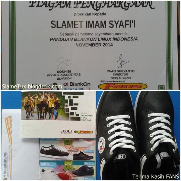 Sepatu FANS Pengembang BlankOn Linux Indonesia - Sayembara Menulis Panduan - 4