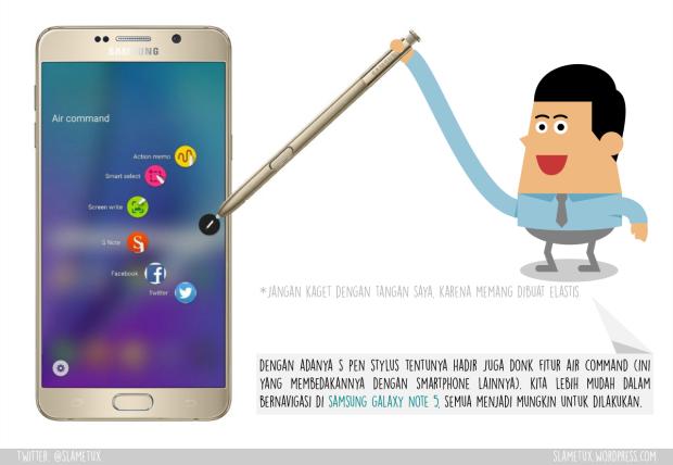 Air Command Samsung Galaxy Note 5-SlameTux