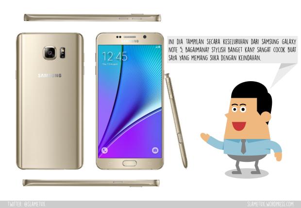 Design Samsung Galaxy Note 5-SlameTux