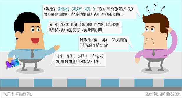 Komik Strip Samsung Galaxy Note 5 Unpacked 2015-SlameTux-3