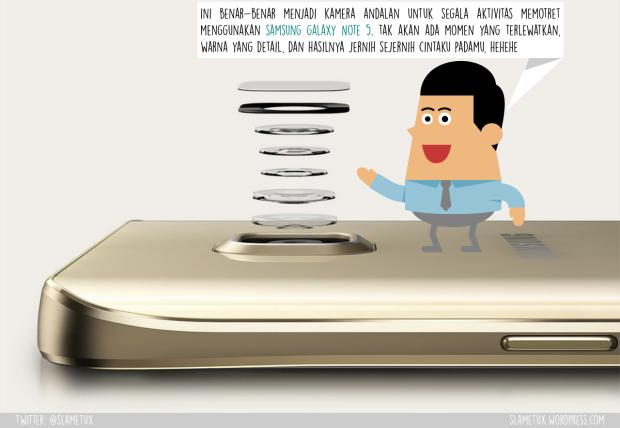 Lensa Kamera Samsung Galaxy Note 5-SlameTux