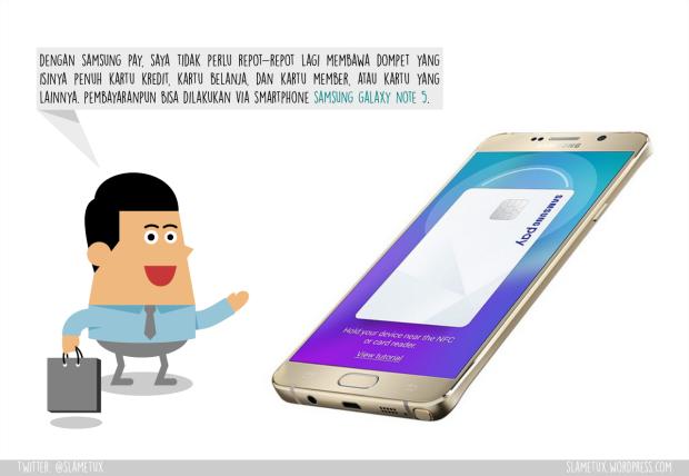 Samsung Pay Samsung Galaxy Note 5-SlameTux