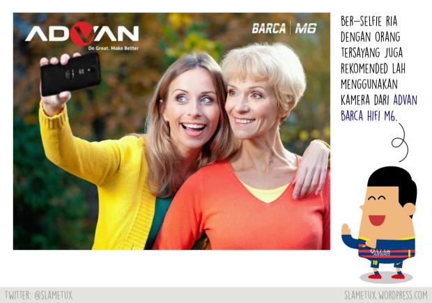 selfie-advan-barca-hifi-m6-slametux